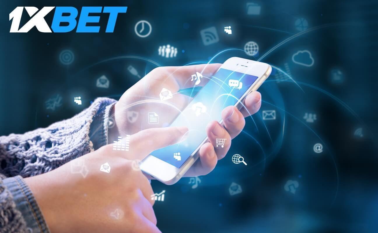 1xBet app iPhone